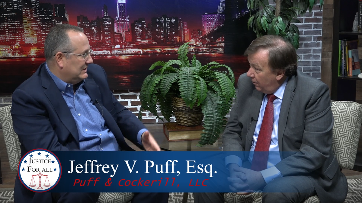 Jeff Puff Discusses Estate Planning on Justice For All TV Show